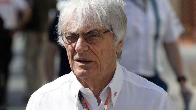 """Formel 1: Frauen für Ecclestone """"zu schwach"""" (Bild: APA/AFP/Tom Gandolfini)"""
