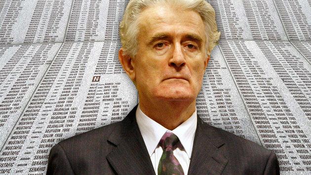 """Karadzic über sein Urteil: """"Das ist katastrophal"""" (Bild: AP, APA/AFP/ELVIS BARUKCIC)"""