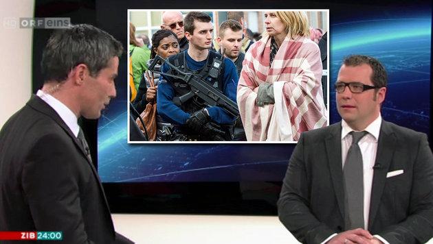 """""""Österreich ist nun ein sekundäres Terrorziel"""" (Bild: tvthek.orf.at, AP)"""