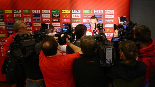 Liebling der Medien: Um Arnautovic herrscht immer ein G'riss. (Bild: GEPA pictures)