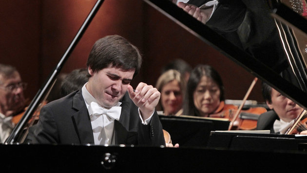 Star-Pianist Vadym Kholodenko (Bild: AP)