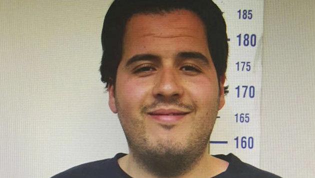 Ibrahim El Bakraoui auf einem t�rkischen Polizeifoto (Bild: Associated Press)