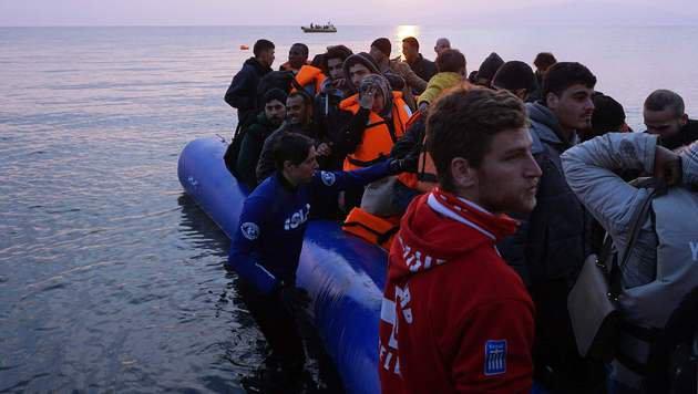 800.000 neue Fl�chtlinge dr�ngen nach Europa (Bild: AFP)