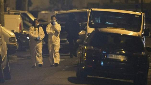 Paris: Erneutes Attentat durch Festnahme vereitelt (Bild: APA/AFP/GEOFFROY VAN DER HASSELT)