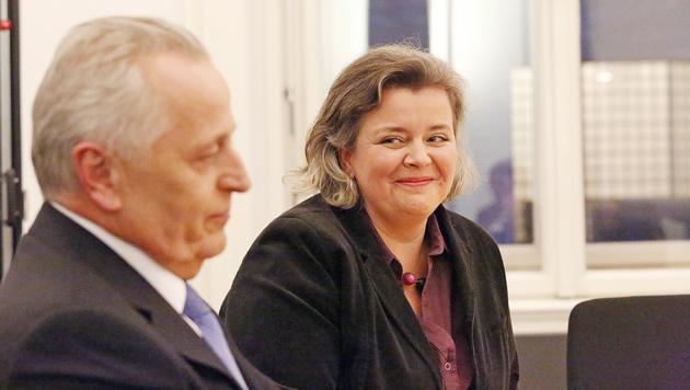 """Birgit Hundstorfer: """"Durfte Rudi zu ihm sagen"""" (Bild: Martin A. Jöchl)"""