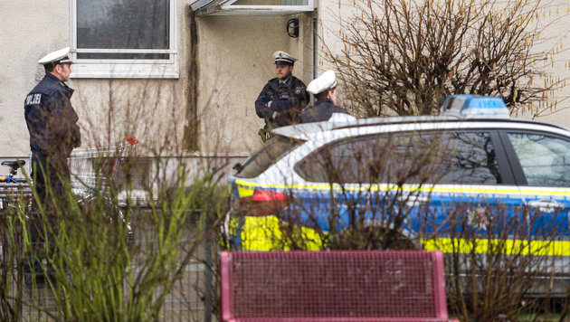 Auch in Deutschland wurden zwei mutma�liche Terroristen verhaftet. (Bild: APA/dpa/Marius Becker)