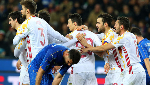 Aduriz verhindert Spaniens Pleite gegen Italien (Bild: AP)