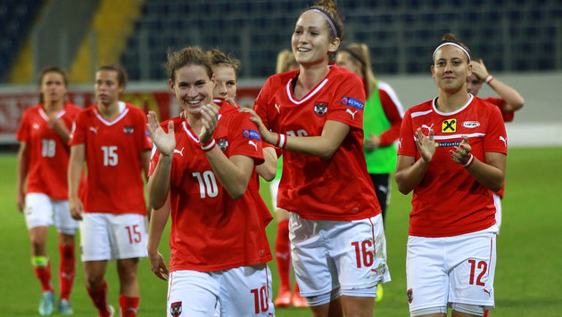 Bestmarke! ÖFB-Frauen in Weltrangliste auf Rang 25 (Bild: GEPA)