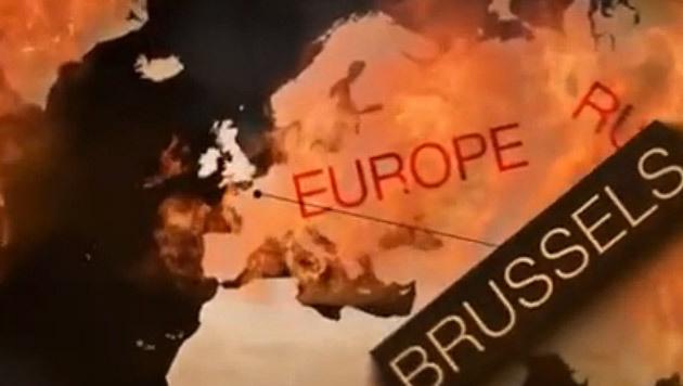 IS-Bekennervideo mit Donald Trump aufgetaucht (Bild: LiveLeak.com)