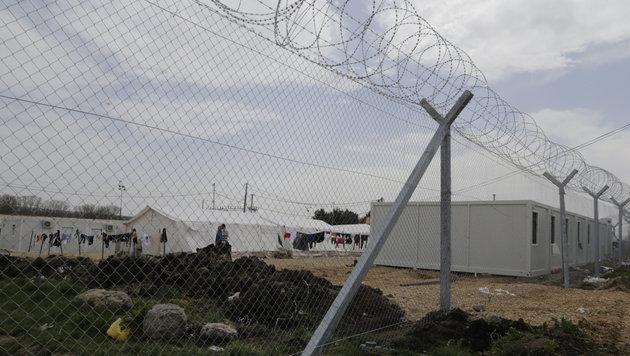 Das Lager von Tabanovce ist von der Welt abgeschottet. (Bild: Klemens Groh)