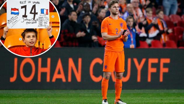 Amsterdam ehrt Johan Cruyff: Arena wird umbenannt! (Bild: GEPA, ASSOCIATED PRESS)