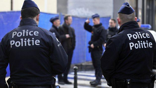 Belgien: Aufregung um Mord an Wachmann (Bild: APA/AFP/Belga/ERIC VIDAL (Symbolbild))
