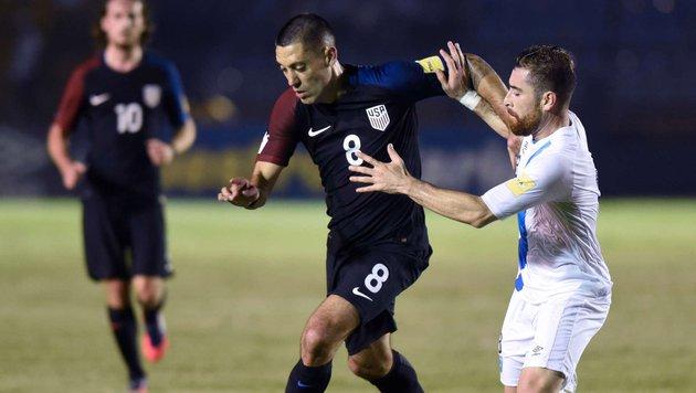 Blamable 0:2-Niederlage der USA in Guatemala (Bild: APA/AFP/JOHAN ORDONEZ)