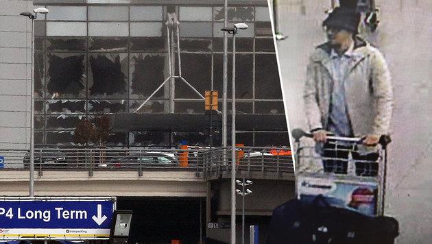 Brüssel: Dritter Flughafen-Attentäter festgenommen (Bild: ASSOCIATED PRESS)