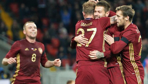 EURO-Teilnehmer: Brasilianer jubelte mit Russland (Bild: GEPA pictures)