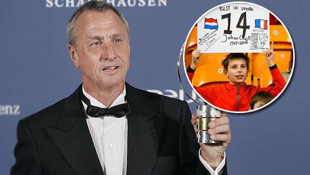 Gänsehaut! Bewegender Abschied von Johan Cruyff (Bild: ASSOCIATED PRESS, AP)