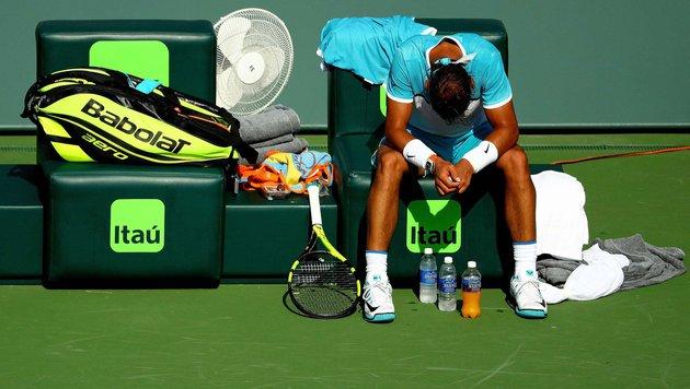 Nadal musste aufgeben! Hitze beim Masters in Miami (Bild: 2016 Getty Images)