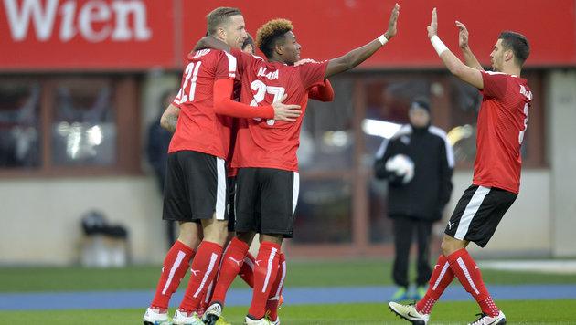 ÖFB-Team triumphiert im ersten EURO-Testspiel (Bild: APA/HERBERT NEUBAUER)