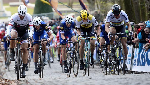 Tragödie im Radsport: Belgier nach Sturz gestorben (Bild: APA/AFP/BELGA/DIRK WAEM)