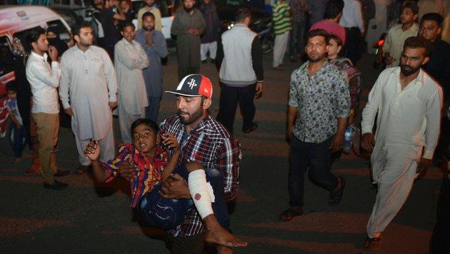 Pakistan: Gezielter Taliban-Anschlag auf Christen (Bild: AFP or licensors)