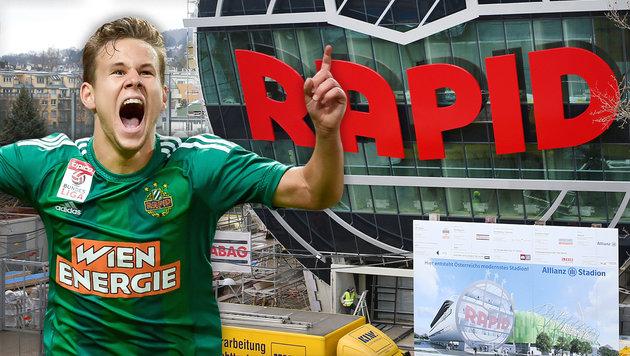 Dieser Topklub eröffnet mit Rapid das neue Stadion (Bild: GEPA)