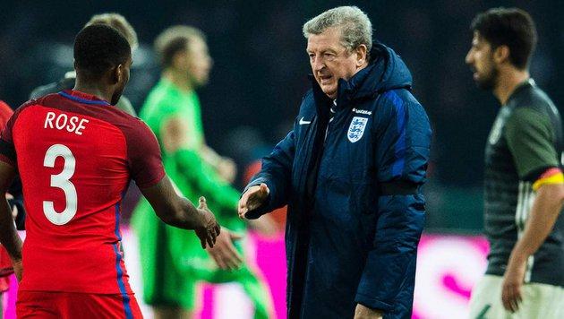 """Junge Engländer bescheren Hodgson """"besten Abend"""" (Bild: APA/AFP/ODD ANDERSEN)"""
