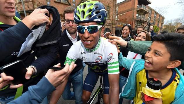 Nairo Quintana gewinnt 96. Katalonien-Rundfahrt (Bild: AFP)