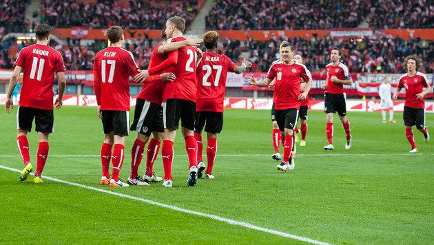 ÖFB-Team mit positiver Bilanz gegen die Türkei (Bild: Andreas Graf)