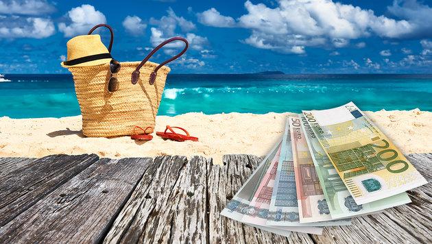 Urlaub: So viel ist Ihr Euro im Ausland wert (Bild: thinkstockphotos.de)