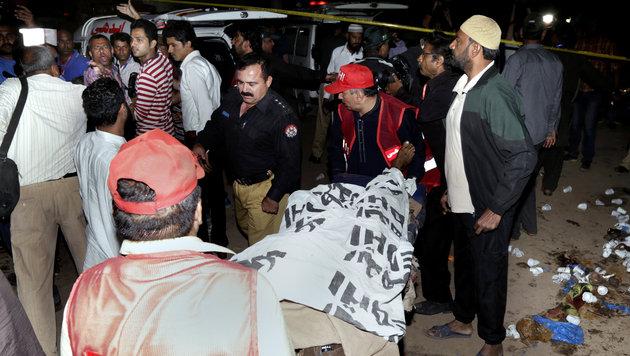 Pakistan: Gezielter Taliban-Anschlag auf Christen (Bild: AP)