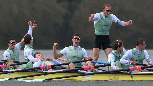Auersperg verabschiedet sich mit Boat-Race-Sieg (Bild: AFP)