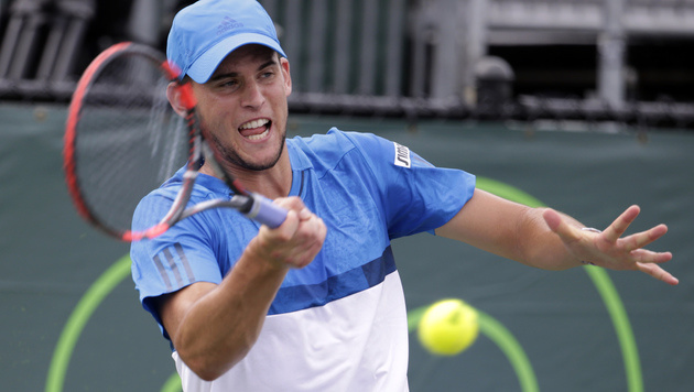 Thiem geht ohne Erwartungen ins Duell mit Djokovic (Bild: AP)