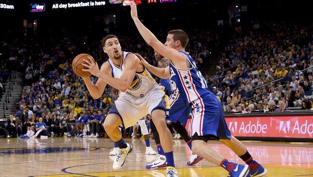 NBA: Golden State bleibt weiter auf Rekordkurs (Bild: APA/AFP/GETTY IMAGES/Thearon W. Henderson)