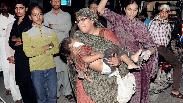 Pakistan: Gezielter Taliban-Anschlag auf Christen (Bild: AFP)