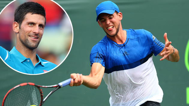 Thiem will Djokovic im Miami-Achtelfinale ärgern (Bild: APA/AFP/GETTY IMAGES/CLIVE BRUNSKILL)