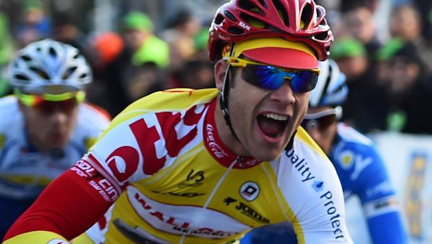 Tragödie im Radsport: Belgier nach Sturz gestorben (Bild: APA/AFP/ANNE-CHRISTINE POUJOULAT)