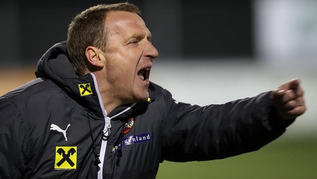 Trainer Rupert Marko (Bild: GEPA)