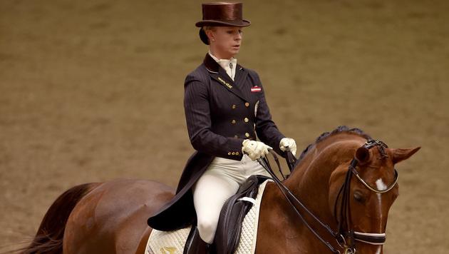 Victoria Max-Theurer gewinnt Kür in Stadl-Paura (Bild: GEPA)