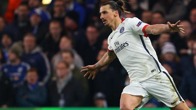 Zlatan Ibrahimovic: Wechsel in die Premier League? (Bild: GEPA)