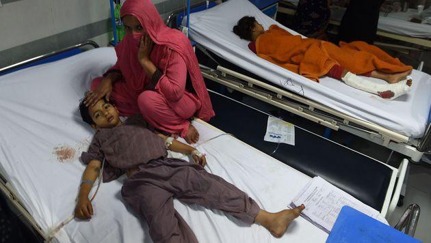 Pakistan: Gezielter Taliban-Anschlag auf Christen (Bild: APA/AFP/FAROOQ NAEEM)