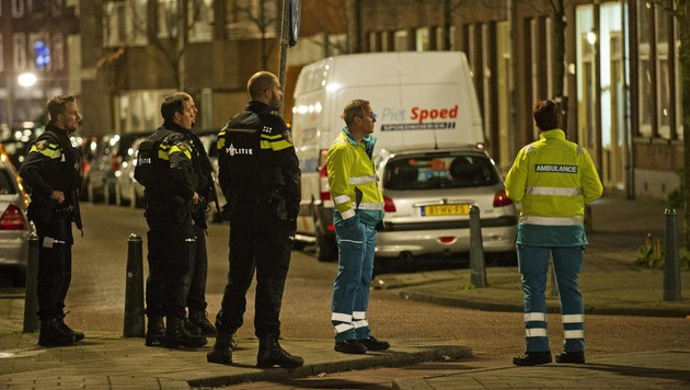 Rotterdam: Franzose plante Attentat - verhaftet (Bild: APA/AFP/ANP/MARTEN VAN DIJL)