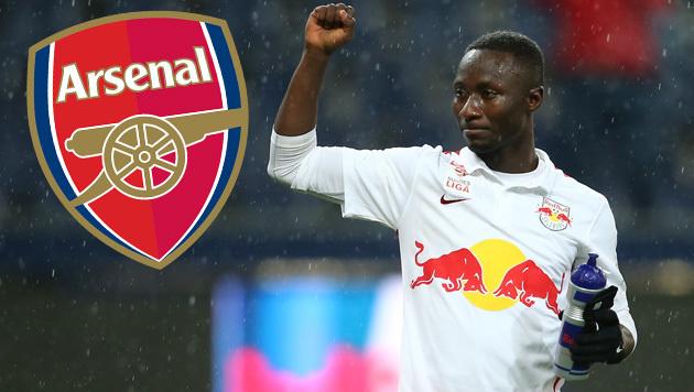 Arsenal zeigt Interesse an Salzburg-Star Keita (Bild: GEPA)