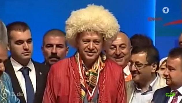 Ein Video einer deutschen Satire-Sendung spottet �ber Erdogan. (Bild: YouTube.com/extra3)