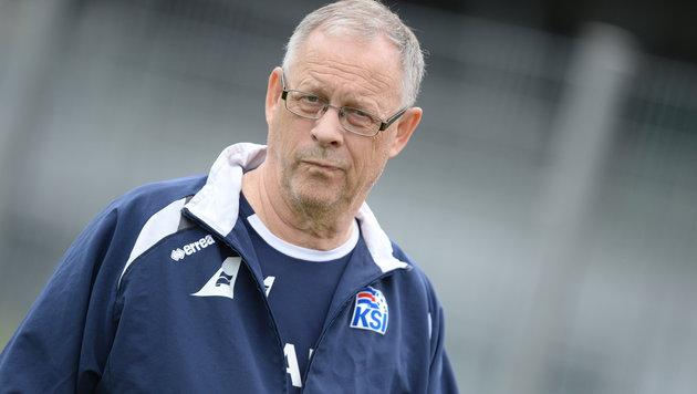 Island-Teamchef Lagerbäck macht nach EURO Schluss (Bild: GEPA)