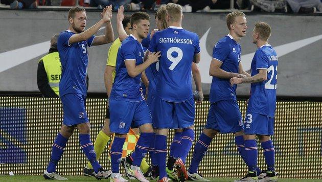 Island stoppt Negativserie mit 3:2 in Griechenland (Bild: AP)