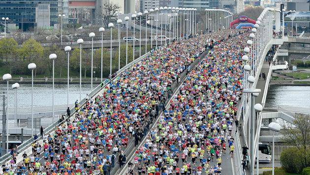 Läufer aus aller Welt bringen 55 Mio. € nach Wien (Bild: GEPA)