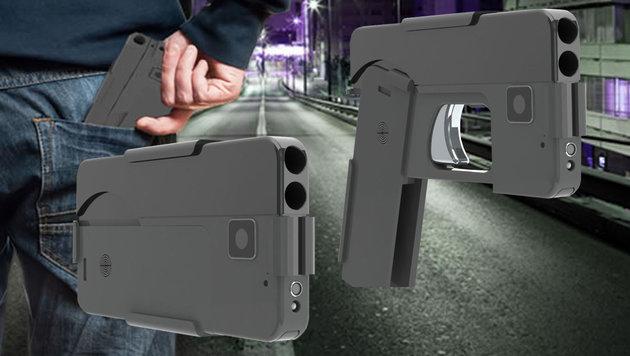 Neuartige Pistole sieht aus wie ein Smartphone (Bild: Ideal Conceal)
