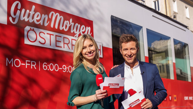 """ORF zufrieden mit """"Guten Morgen Österreich"""" (Bild: ORF)"""