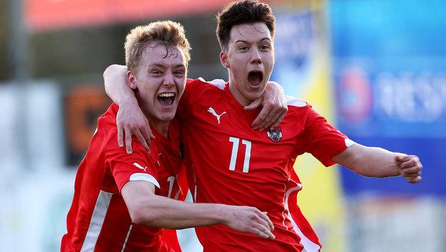 Österreichs U19 löst gegen Tschechien EM-Ticket! (Bild: GEPA)