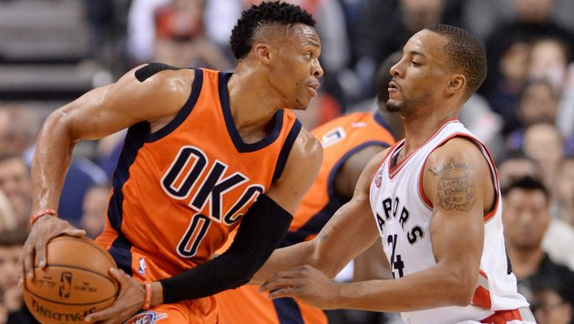 Oklahoma dank Westbrook mit 8. NBA-Sieg in Serie (Bild: ASSOCIATED PRESS)